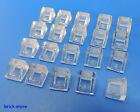 LEGO NR- 4244362/1x1 2/3 tuiles en béton verre clair transperant / 20 pièces