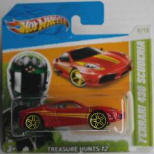 Hot Wheels Ferrari 430 Scuderia rot Treasure Hunt T-Hunt Neu/OVP ERROR HW rosso
