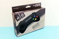 Retro-Bit Wired Controller GamePad für Super Nintendo SNES in schwarz