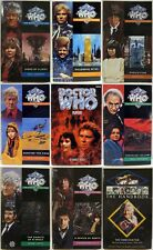 9 Dr Who Pb Books - 1990's Printings - Uk - Evolution Players Millenial Dancing