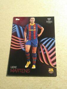 LIEKE MARTENS/594 - UEFA Women's Champions League - Knockout 2021 FC Barcelona