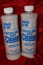 "TWO Collinite #920 Liquid Boat Cleaner  ""FACTORY FRESH"""