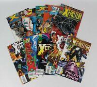 Set Of 10 Marvel 1994-1995 X-Factor Comics X-Men Deluxe Vol 1 Ed #108-117 L29