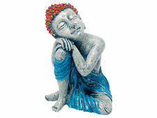 Buddha Statue Aquarium Ornament Fish Tank Resting Budda Decoration