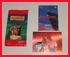 POCAHONTAS N 3 card metallizzata DISNEY made USA Skybox