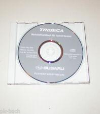 Werkstatthandbuch auf CD Subaru Tribeca - Modelljahre 2007 bis 2009!