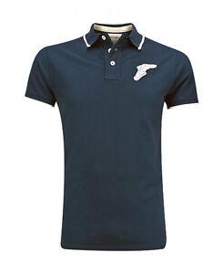 GoodYear Blue Premium Polo Shirt Pique FAIRBORN Motorcycle Hot-Rod Slim Hemd 3XL