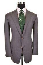 Ermenegildo Zegna Napoli Couture XXX CASHMERE Wool Check Sport Coat Jacket 54 44