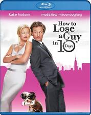 How To Lose A Guy In 10 Days NEW Blu-ray Kate Hudson FREE SHIPPING!!