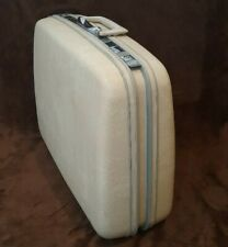"""SAMSONITE *Silhouette* LUGGAGE Off White 20x15"""" with Keys Spotless *FLAWLESS*"""