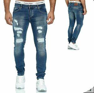 Herren Jeanshosen  Stretch Hose  Jeans  Slim fit  SKINNY 1002-1