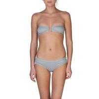 CHLOE 9506 Luxury Designer Bandeau Bikini Top and Matching Bikini Brief Set