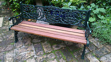Unbranded Up to 3 Cast Iron Garden Chairs, Swings & Benches