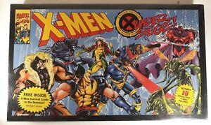 Pressman X-Men Under Siege Board Game Marvel Comics 1994 Complete SEALED Vintage