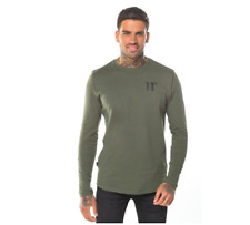 11 Degrees Core Long Sleeve T-Shirt Khaki