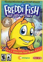Freddi Fish: Kelp Seed Mystery (PC Game) Win XP/2000 (free US shipping)