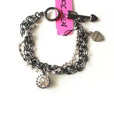 "New 7"" Betsey Johnson Chain Bracelet Gift Fashion Women Party Holiday Jewelry"