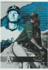 2020 Topps Gold Label - A.J.PUK #67 Class 2 BLUE Rc - A's Oakland Rookie 43/99