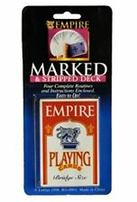 MARKED & STRIPPED TRICK DECK OF PLAYING CARDS BRIDGE SIZE STRIPPER EMPIRE MAGIC