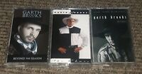 LOT 3 CASSETTE TAPES GARTH BROOKS BEYOND THE SEASON/THE CHASE/NO FENCES country!