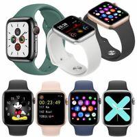 2020 Damen Herren Smartwatch Fitness Tracker Uhr für Android iOS iPhone 11 XR XS