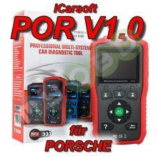 iCarsoft POR v1 Profi Diagnosegerät für Porsche OBD 2 Diagnose ABS Airbag uvm.