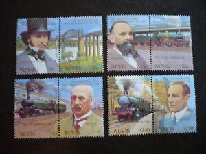 Stamps - Nevis - Scott# 438-441