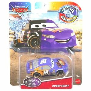Disney Pixar Cars COLOR CHANGERS ( 2-in-1 ) BOBBY SWIFT Toy Car