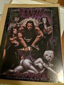 Danzig Hidden Lyrics Of The Left Hand Simon Bisley Art Verotik Signed by Danzig