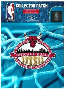 Chicago Bulls Championship Patch Decade of Dominance Official NBA Basketball