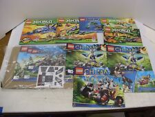 Lot LEGO Instruction Manuals Chima Ninjago Books