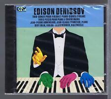 DENISSOV CD NEW  DEVY ERLIH TRIO SONATE SIGNES EN BLANC TROIS PIECES