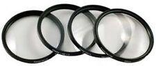 CLOSE UP Lens 4 Set for Canon HF10 HF100 HF11 HF20 HF200 HF21 HFM30 HFM31 HFM300
