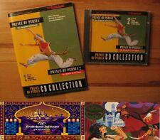 Prince of Persia 1 und 2 DOS Kult mit Handbuch 1989 !!!!