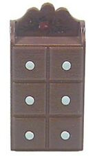 Dollhouse Accessories Decorated Spice Chest Plastic CHR54