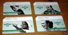 2001 amex Us Open Nyc Metrocard Set 4 patrick rafter