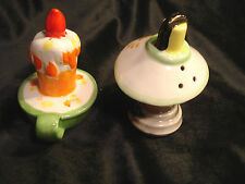 Vintage..Ceramic..Lefton ...Lantern...Candlestick...Salt & Pepper Shakers--Japan