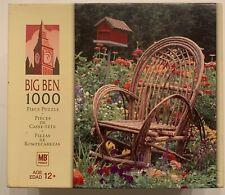 2005 SUMMER RETREAT ADIRONDACK CHAIR JIGSAW PUZZLE, HASBRO BIG BEN, 1000 PIECES