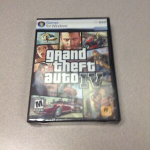 Grand Theft Auto IV PC DVD  GTA 4  Windows Vista SP 1 / XP SP3   NEW