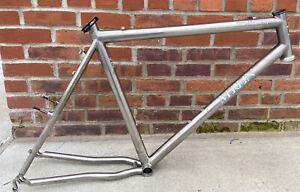 Merlin titanium mountain bike frame - 55.5 cm