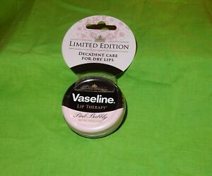 NEW VASELINE LIP THERAPY PINK BUBBLY LIMITED EDITION