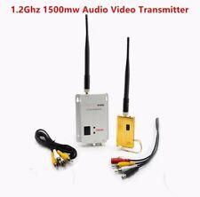 1.2ghz FPV Video transmitter receiver 1500mw