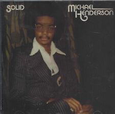 Michael Henderson - Solid  New  cd  ftg    + bonustracks
