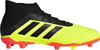 adidas Predator 18.1 Firm Ground Junior Football Boots - Yellow