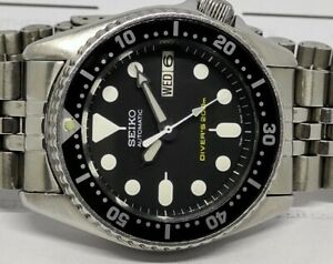 LOVELY PRE OWNED SEIKO 7S26-0030 SKX013K AUTOMATIC MENS WATCH SN 080101