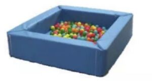 """Soft Play Toys For Kids Childrens Ball Pool 4ft4ftx12"""" With Free Inner Mat"""