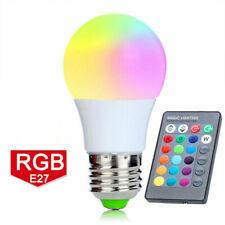 E27 5W / 10W LED RGB 16 Color Changing Lamp Light Bulb IR Remote Control