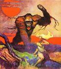 Kong Print Art by Frank Frazetta