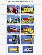 Block Architecture Postal Stamps