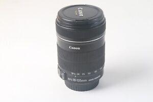 Canon EFS 18-135MM Image Stabilizer MACRO 0,45m/1.5ft Camera Lens